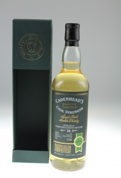 Cadenhead`s Glenrothes Distillery 2002 16y 55,2 % Bourbon Hogshead