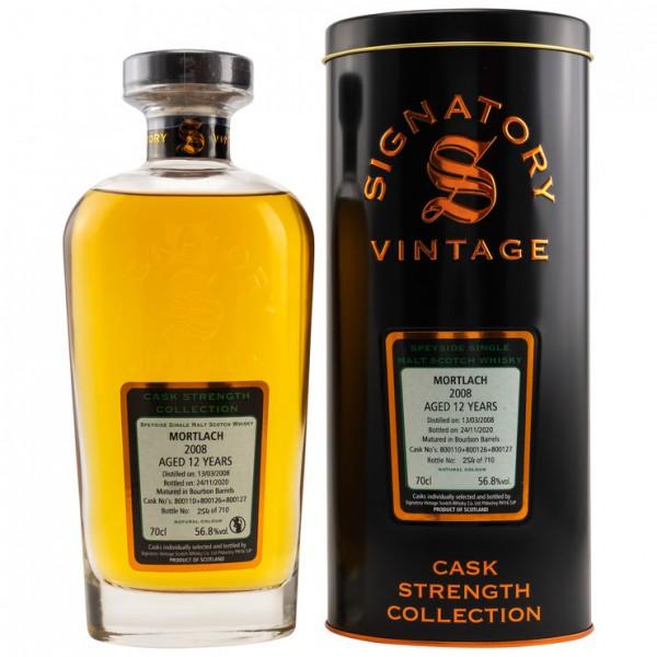Signatory Mortlach 12 y Bourbon Barrel 56,8 %Vol