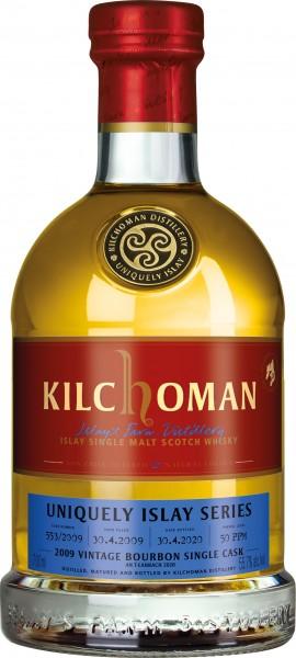 Kilchoman Vintage 2009 55,7 %Vol Refill Bourbon Barrel Cask 553/2009