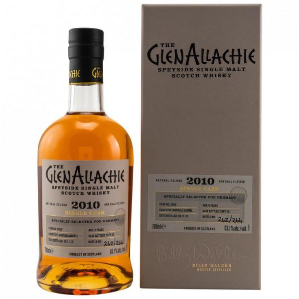 GlenAllachie 9 y Marsala Barrel 2010/2020 63,1 %Vol Selected for Germany