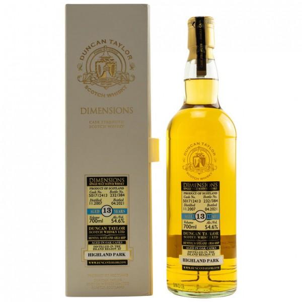 Highland Park 2007/2020 Duncan Taylor: Dimensions 54,6 %Vol 384 bottles