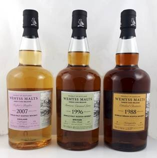 Wemyss Croftengea Crofter's Bonfire 2007, 12 years, 46% Bourbon Hogshead, 378 bottles