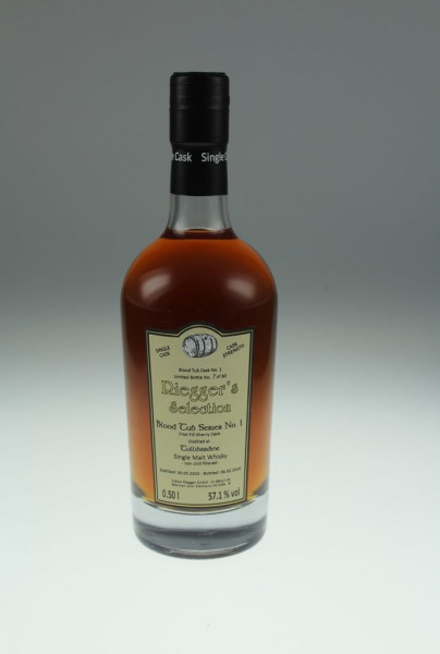 Tullibardine Blood Tub Series No. 1 2013 First Fill Sherry Oloroso Cask Riegger's Selection