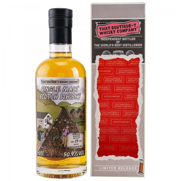 Glengoyne 19 y That Boutique-Y Whisky Company 50,9 %Vol PACKUNG BESCHÄDIGT