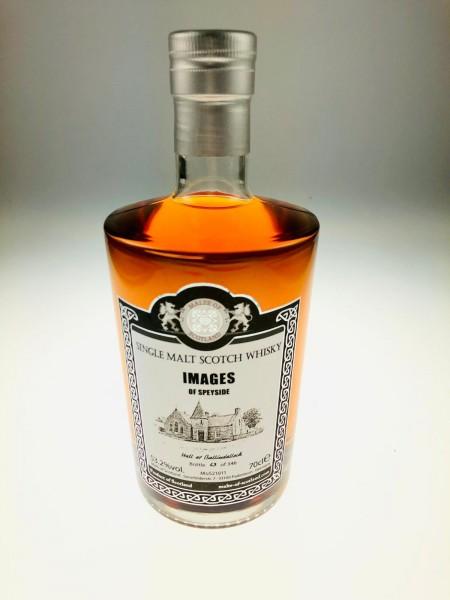"""Malts of Scotland IMAGES OF SPEYSIDE """"Hall at Ballindalloch"""" Rioja Wine Hogshead 53.2%Vol 346 Bott"""