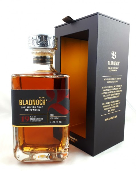 BLADNOCH 19 YEARS OLD LIMITED EDITION 2021 PX SHERRY CASKS, 46,7 %Vol.