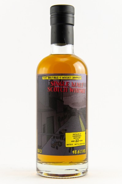 Caperdonich 22 y Batch 5 That Boutique-Y Whisky Company 48,6 %Vol