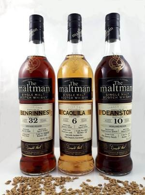 Maltman Caol Ila, 2014, 6 y 56,2%, Bourbon barrel 19891 Specially selected and bottled for Germany