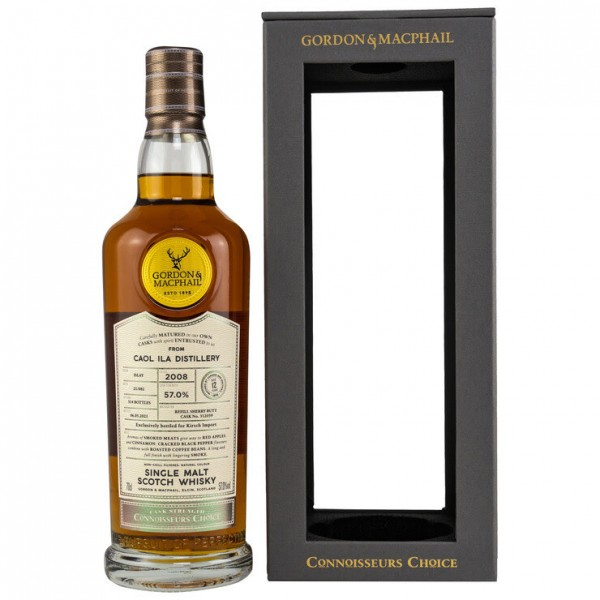 Caol Ila 2008/2021 Gordon & MacPhail Connoisseurs Choice 12y 57 %Vol refill Sherry