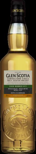 GLEN SCOTIA 2012 2021 1st Fill Bourbon Barrel 55,6 %Vol Cask.No. 748