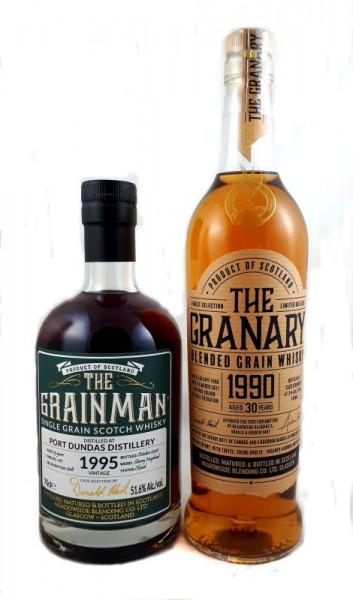 Grainman THE GRANARY Blended Grain Whisky 1990, 30y 47,3 %Vol