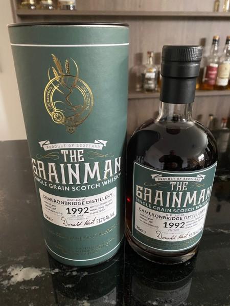 Grainman Cameronbridge 28 y 51,7 %Vol Sherry Cask