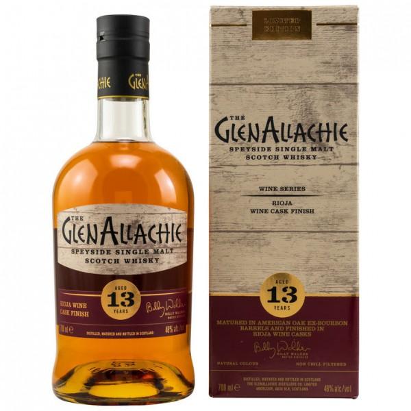 GlenAllachie 13y Rioja Wine Cask Finish 48 %Vol