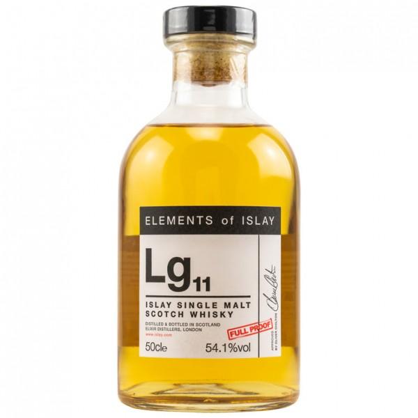 Elements of Islay Lg11 54,1 %Vol 1067 bottles 0,5 l