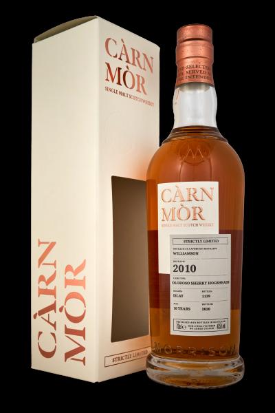 Carn Mor Williamson 2010 10 Years Sherry Butt Islay 47,5 %Vol