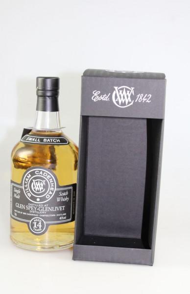 Cadenhead`s Glen Spey 2001 14 y Bourbon Hogshead 46,0 %Vol Single Malt 264 Bottles