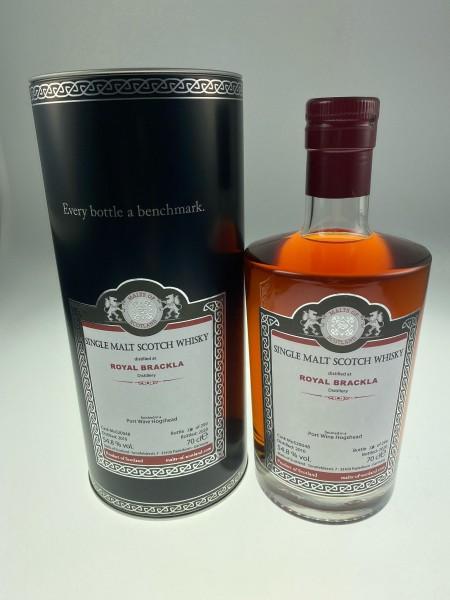 Malts of Scotland Royal Brackla 2010 Port Wine Hogshead Finish 54.8 %Vol 299 Bottles
