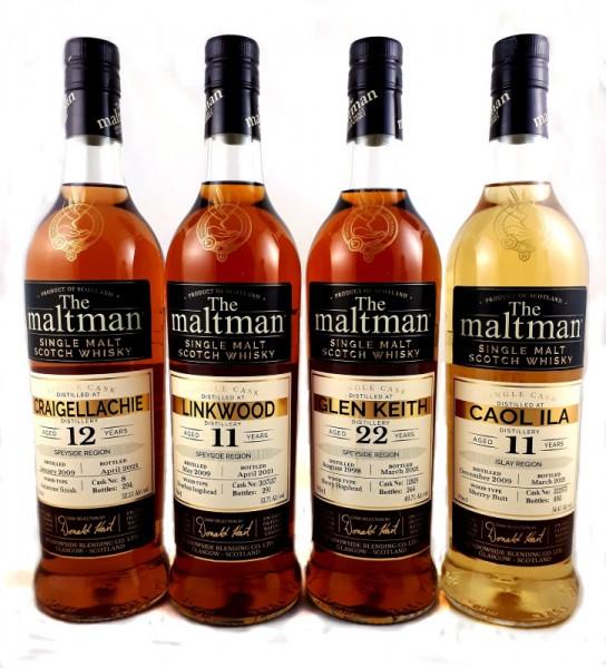 Maltman Caol Ila 11y 54,4 %Vol Sherry Butt