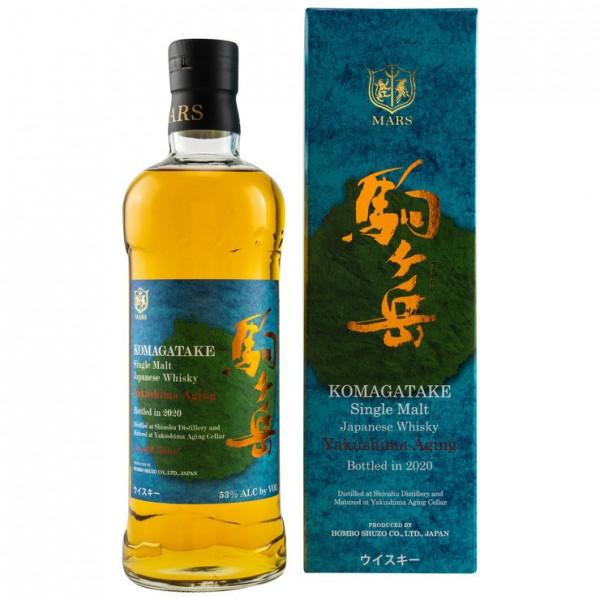MARS Komagatake Yakushima Aging 2020 Single Malt Japanese Whisky 53% %Vol. 0,7 Liter