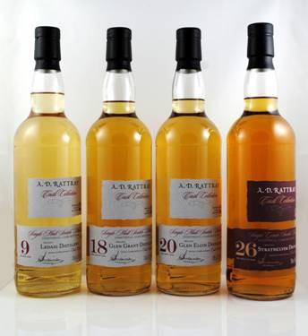 A. D. Rattray Glen Elgin 1995 20y 55,5%Vol Bourbon Hogshead