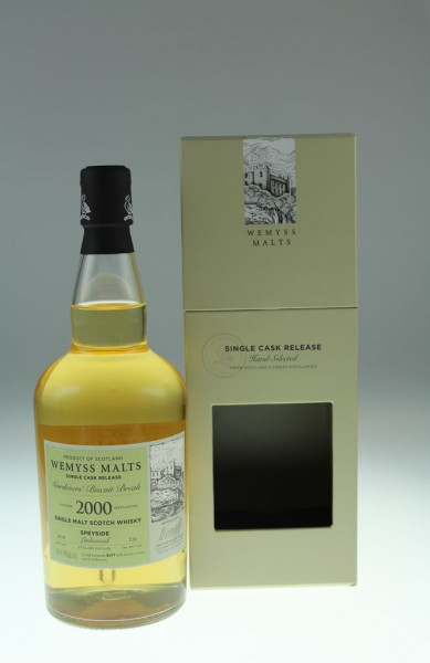 Wemyss Gardener´s Biscuit Basket 2000, 18 years, 46%, 726 bottles Distilled at Linkwood Distillery