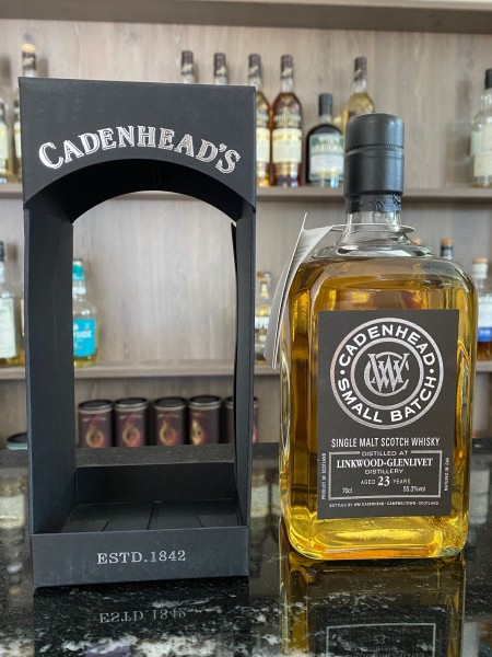 Cadenhead`s Linkwood Distillery 1992 23y 55,3% 492btls. 2xBH