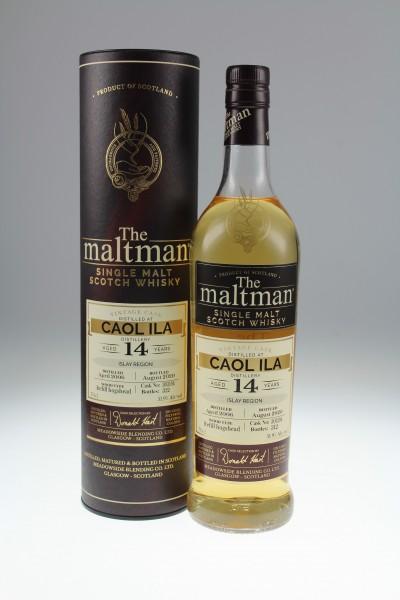 Maltman Caol Ila, 2006, 14 years old, 51,9%, refill hogshead no. 303194