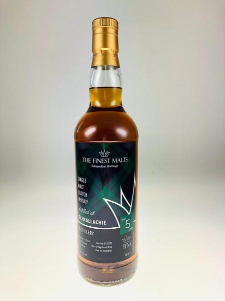 Glenallachie 2014 2020 5y 55,1 %Vol Sherry Hogshead 78 Flaschen
