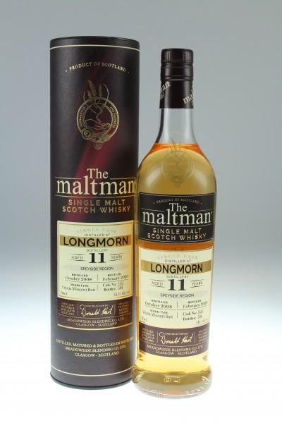 Maltman Longmorn, 2008, 11 years old, 54,1%, Vitoria Missouri Butt no. 5555