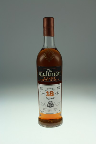 Maltman Cask Strength Small Batch Blend, 12 years old, 54,1%, Sherry butt