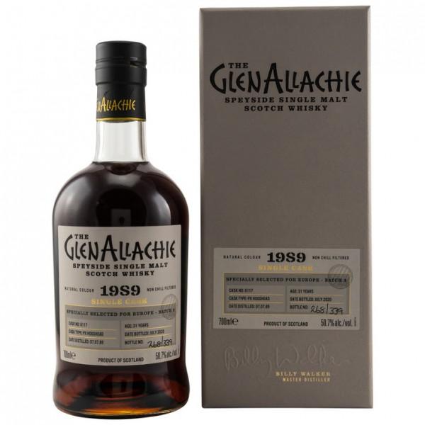 GlenAllachie Single Cask 31 y 1989/2020 50,7 %Vol Pedro Ximénez Hogshead