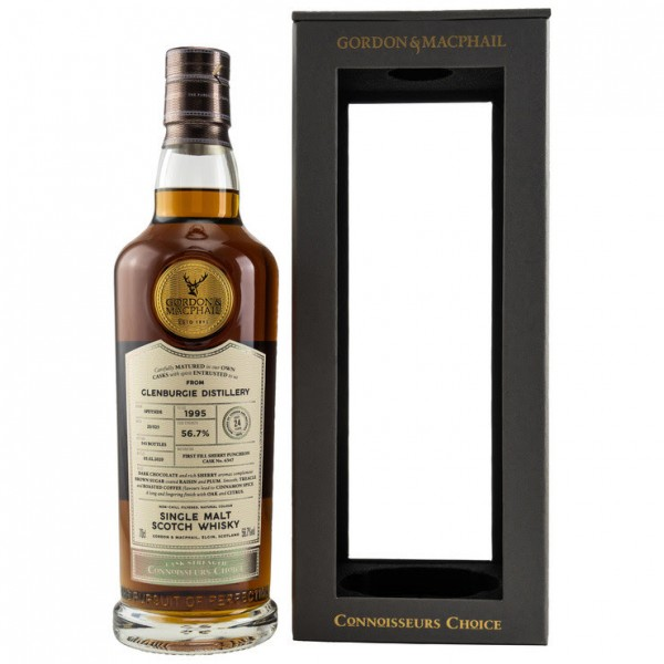 Glenburgie 1995/2020 Gordon & MacPhail Connoisseurs Choice 24 y 56,7 %Vol First Fill Sherry Pucheon