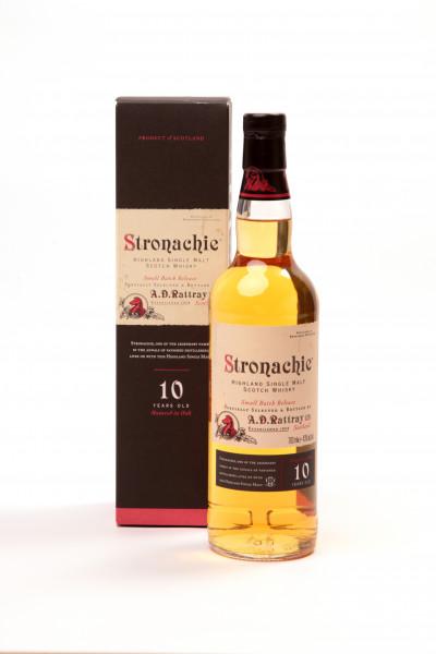 A. D. Rattray Small Batch Release Stronachie 10 y aus der Benrinnes Brennerei