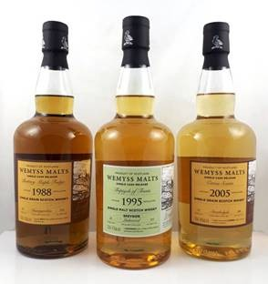 Wemyss Invergordon Buttery Maple Fudge 1988, 30 y 55% Sherry Butt 324 bottles