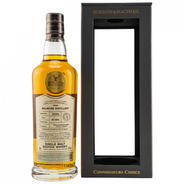Dalmore 2005/2020 Gordon & MacPhail Connoisseurs Choice 14 y Refill Barrel 254 bottles 57,6 %Vol