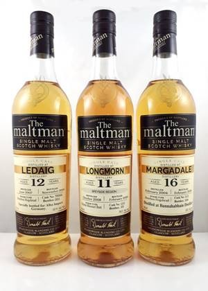 Maltman Margadale, 2004, 16 years old, 50%, Bourbon hogshead no. 2122