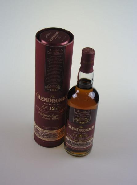 GlenDronach 12y Original Matured in Pedro Ximinez and Oloroso Casks (Whisky)