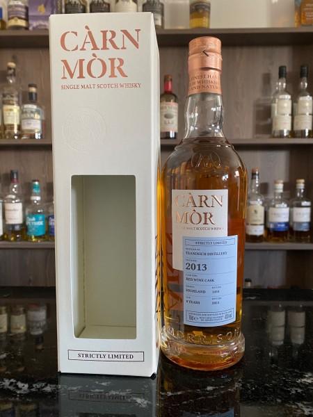 Carn Mor Teaninich 2013 2021 7y Red Wine Cask 47,5 %Vol