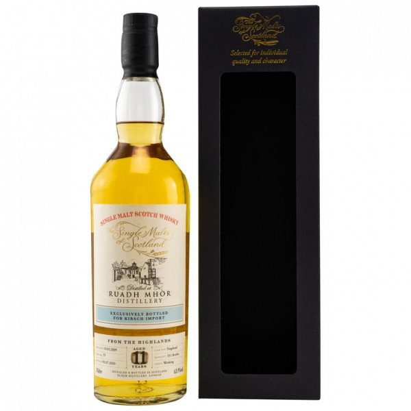The Single Malts of Scotland Ruadh Mhòr 2009/2020 11 y peated Hogshead 63,9 %Vol