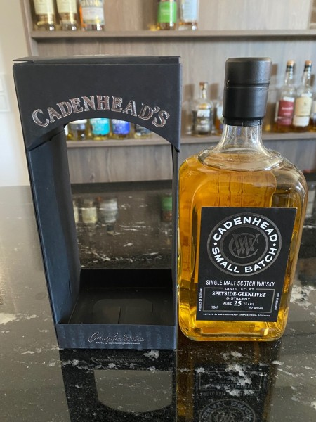 Cadenhead`s Speyside Distillery 1991 25 y 52,4 % Hogshead for Sweden 312 bottles