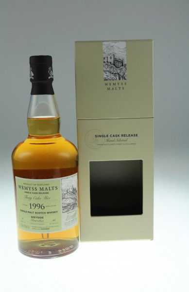 Wemyss Tasty Cake Mix 1996, 23 years, 46% Bourbon Hogshead, 247 bottles Distilled at Glenrothes Distillery