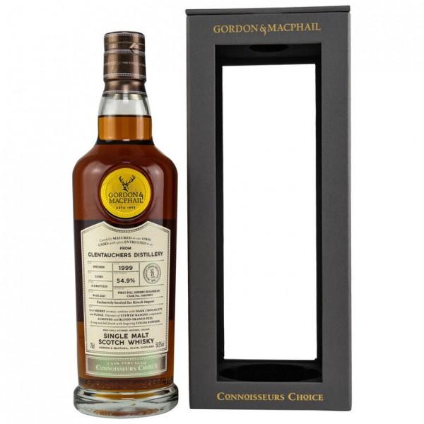 Glentauchers 1999/2021 Gordon & MacPhail Connoisseurs Choice 21y 54,9 %Vol Sherry Hogshead