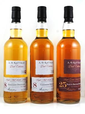 Knockdhu 2009 8 y 59,6 % fresh bourbon finish