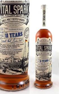 VITAL SPARK, heavily peated & sherried Single Malt, 11 Jahre, 53,4 % vol., 0,5 l. Batch 5