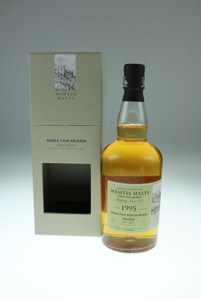 Wemyss Peppery Pear Pie 1995, 22 years, 55,9%, Bourbon Hogshead, 261 bottles Distilled at Glen Elgin Distillery