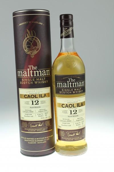 Maltman Caol Ila 12 J. 2007 53,3% Bourbon Hogshead