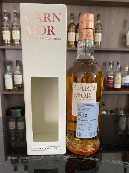 Carn Mor Ruadh Maor 2012 2021 8 Refill Sherry Hogsheads Highland 47,5%
