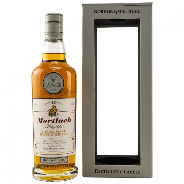 Mortlach Gordon & MacPhail Distillery Label 25y 46 %Vol Bourbon & Sherrycasks