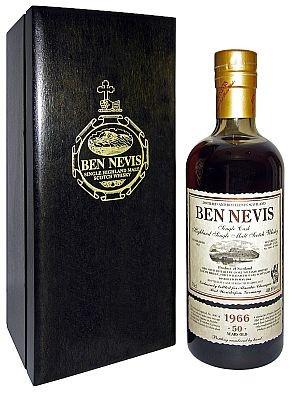 Originalabfüllungen abgefüllt für Alambic Classique Ben Nevis 1966 Cask-No. 3641 Sherry Cask 50 years old
