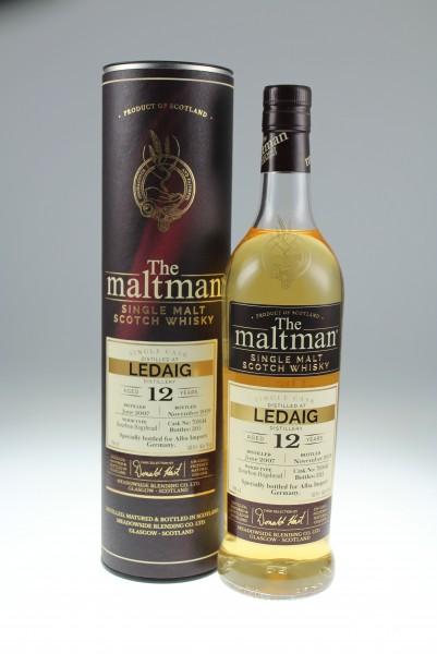 Maltman Ledaig Bourbon Cask 12 y 53,9 %Vol